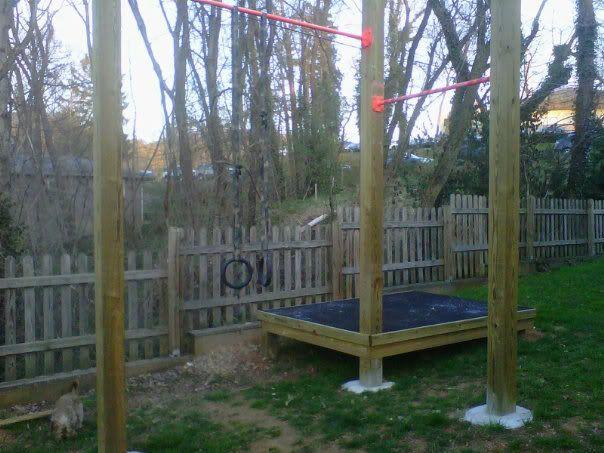 Crossfit Backyard Pull Up Bar :  Outdoor Crossfit Gym, Diy Workout, Outdoor Workout Diy, Outdoor Gym