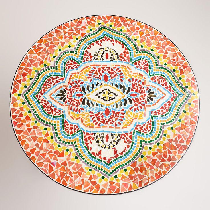 Medallion Cadiz Mosaic Bistro Table | World Market