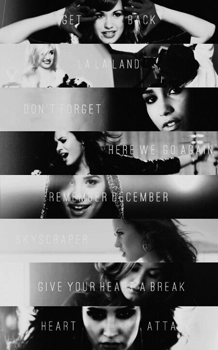 Demi Lovato music videos