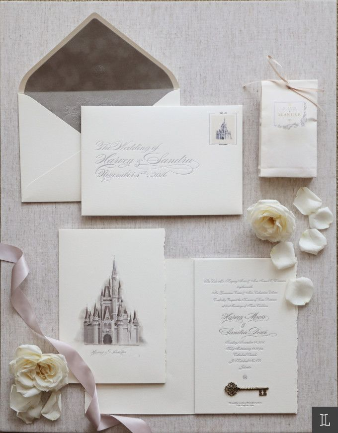 fairytale bridal shower invitation wording%0A Fairytale wedding invitation idea   Sandra Dewi And Harvey Moeis u     Dreamy  Wedding In Jakarta