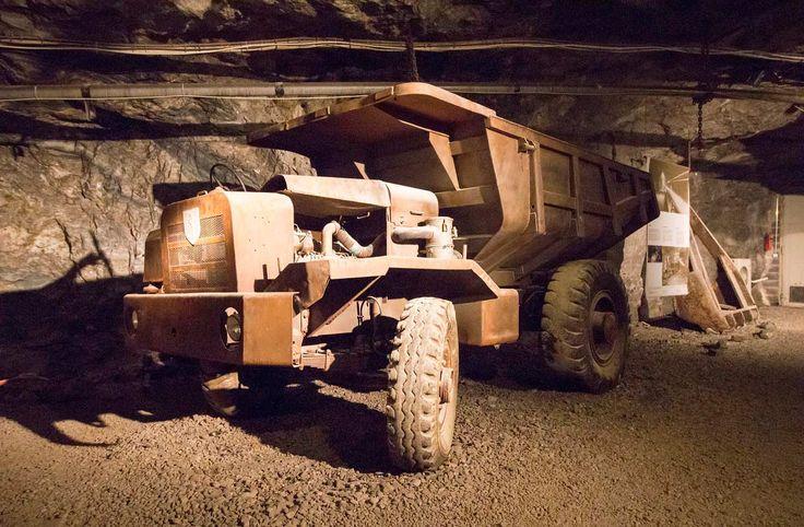 Tytyri mine museum in Lohja Finland