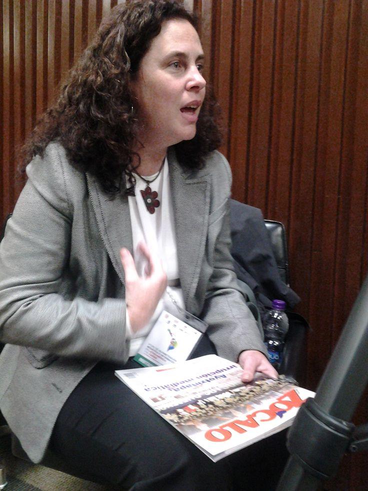 Milena Recio hablando para Zócalo acerca de los retos en la Alfabetización Mediática y las competencias de los lectores digitales.