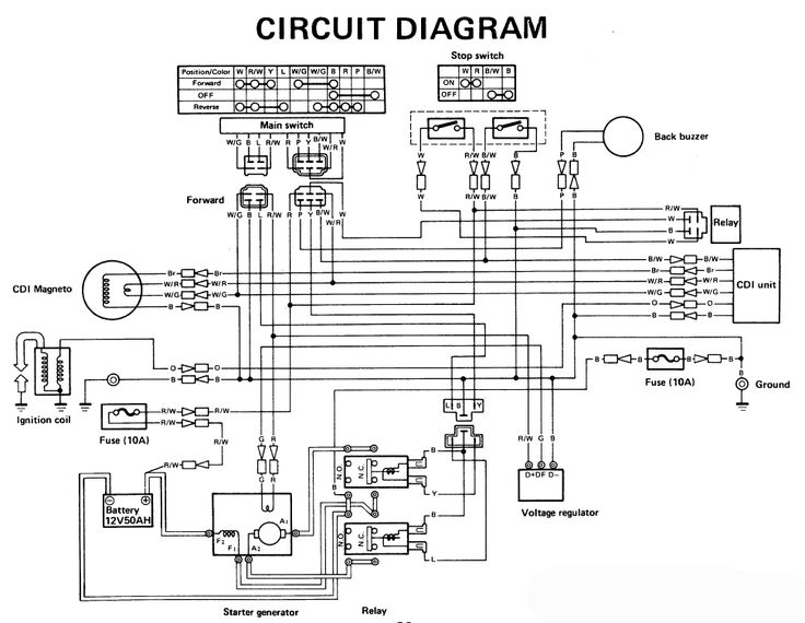 Yamaha Golf Cart Wiring Diagram 6
