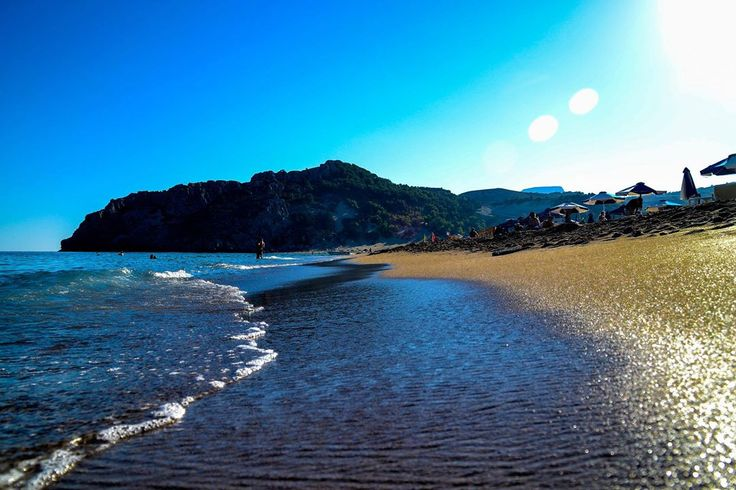 #Panagia #Tsampika #Beach still majestic in #September!!!!  #Rhodes #Rodos #Greece