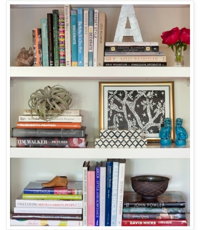 book shelf arrangement bookshelf pinterest the o