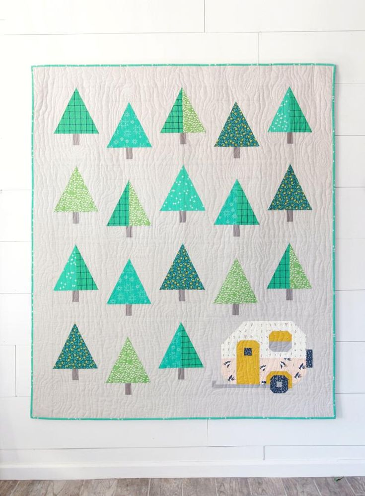 Up North Quilt Pattern | Craftsy
