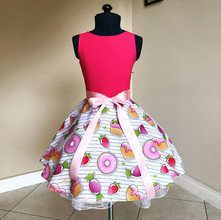 Candy dress , lajupemix, children's dress, kids fashion , pink dress , children's clothes