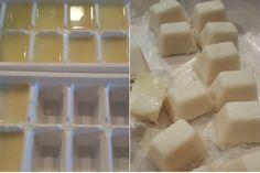 Recette de cubes de savon pour le lave-vaisselle! C'est vraiment simple à faire!