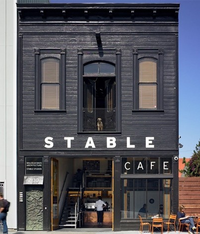 Stable Cafe, San Francisco. Around the corner from my old studio, delicious & healthy ingredients.
