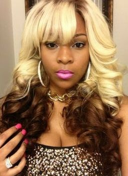 Blonde To Brown Reverse Ombre Dyed Sew In Urban