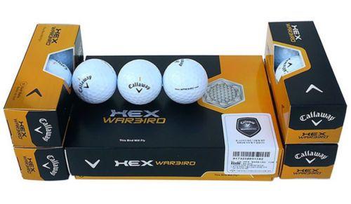 New 2013 Callaway HEX WARBIRD White Golf Ball 4 Dozen 48 Ball