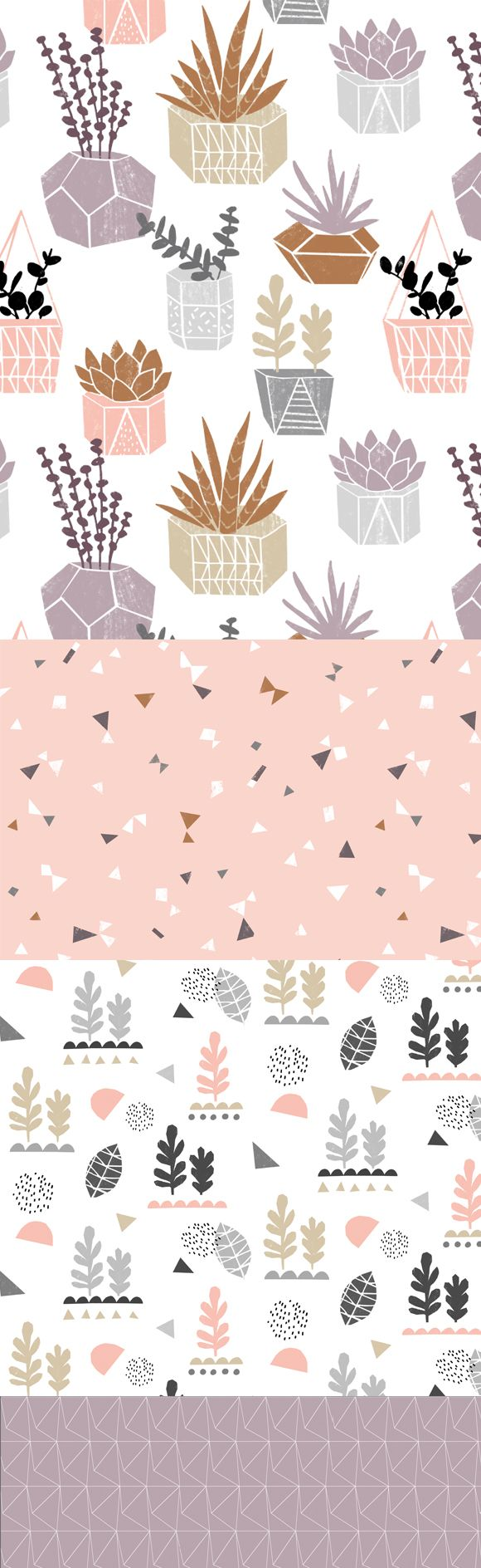 wendy kendall designs – freelance surface pattern designer » plantlife_doc