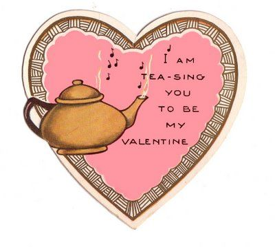 65 best Valentines with Tea images on Pinterest | Vintage cards ...