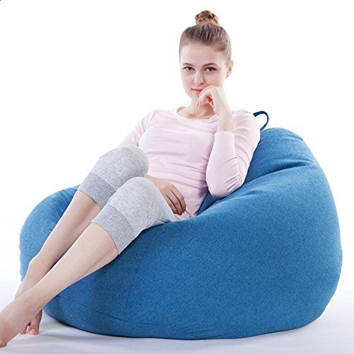 Bean Bag Chair Kids Blue