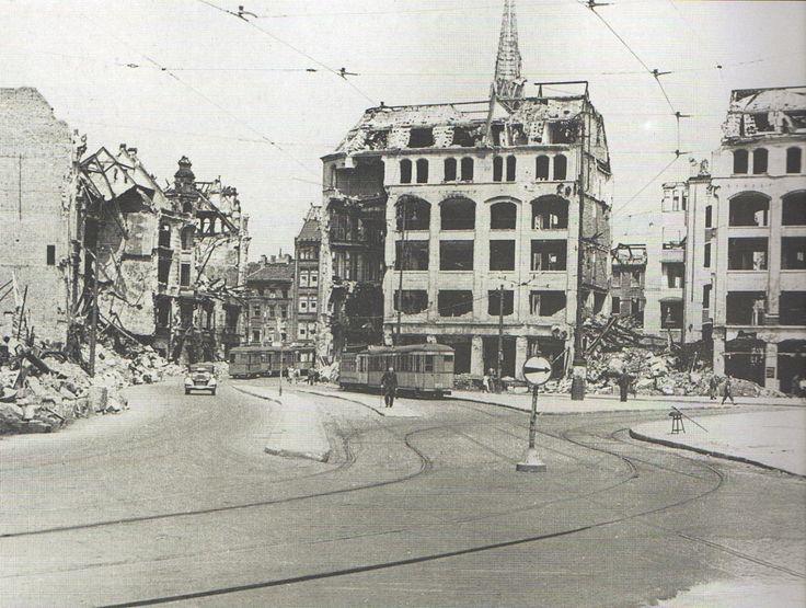 Berlin, Spittelmarkt, Sommer 1945.