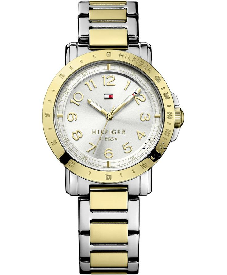 TOMMY HILFIGER Liv Two Tone Stainless Steel Bracelet Η τιμή μας: 139€ http://www.oroloi.gr/product_info.php?products_id=38222