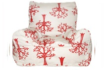 Red orchard chair.  Save $18 now $102.
