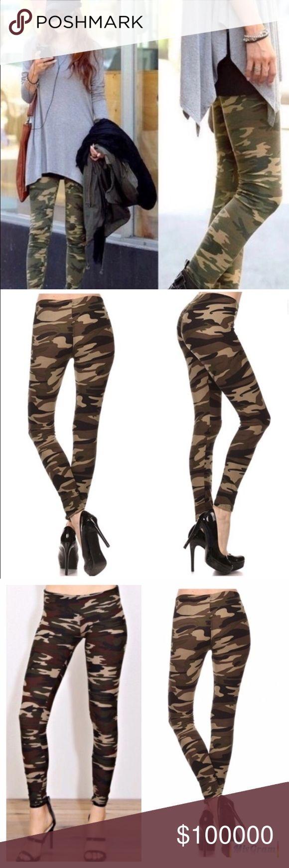 Coming Soon!! Coming Soon!!! Super Cute Camouflage Leggings! Pants Leggings