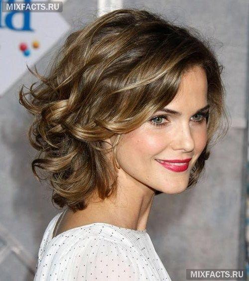 крупная химия на короткие волосы фото - Поиск в Google