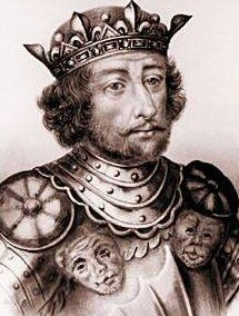 Robert I (866 - 923). King of the West Franks from 922 to 923. He had two daughters with his first wife, Aelis. He then married Béatrice of Vermandois and had two children. He died in battle.