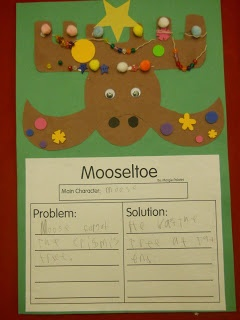 I like this graphic organizer but I would add it to the mooseltoe craft I already do.