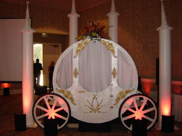 building a castle prop | Party Pros - Cinderella's Carriage