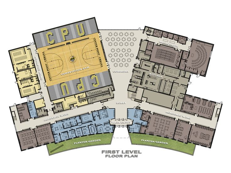 Montana Community Moves Forward With Plans For A Tiny: High School Floor Plans - Google Search
