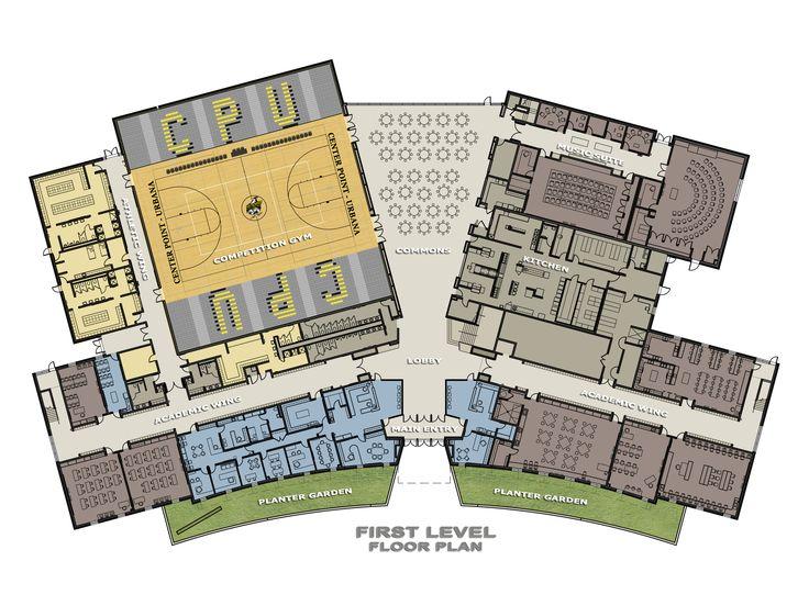 high school floor plans - Google Search