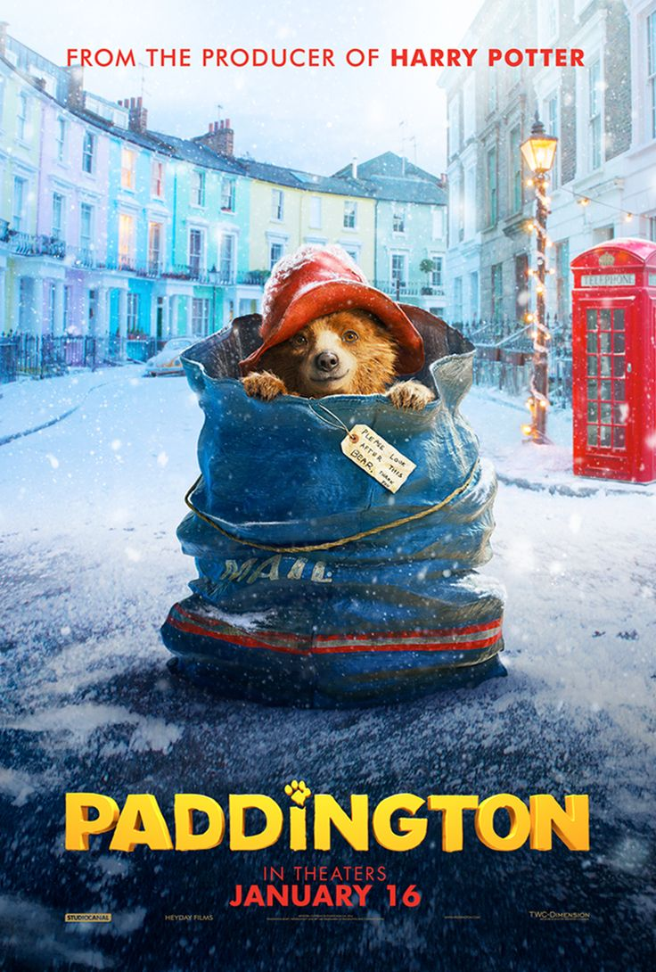 Paddington the movie is coming to theaters on January 16! Based on the classic children's book series by Michael Bond, Paddington is back in a new story your family will love. Click for easy family-friendly crafts, recipes, free printables, and more on our website.