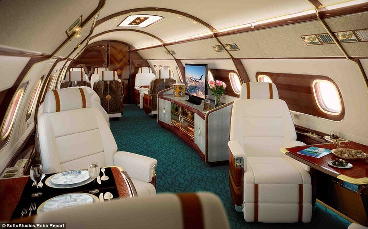 For those who love to fly, a $83million Sky Yacht One could be the ultimate gift; the custom private jet was created through a collaboration...