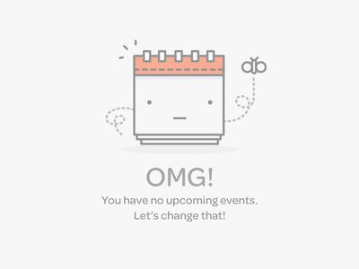 Events Empty Data Set