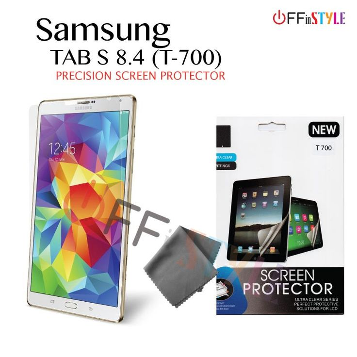 Samsung Tab S Screen Protector | T-700/8.4""
