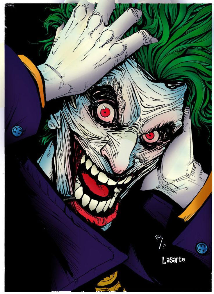 Joker batman comics