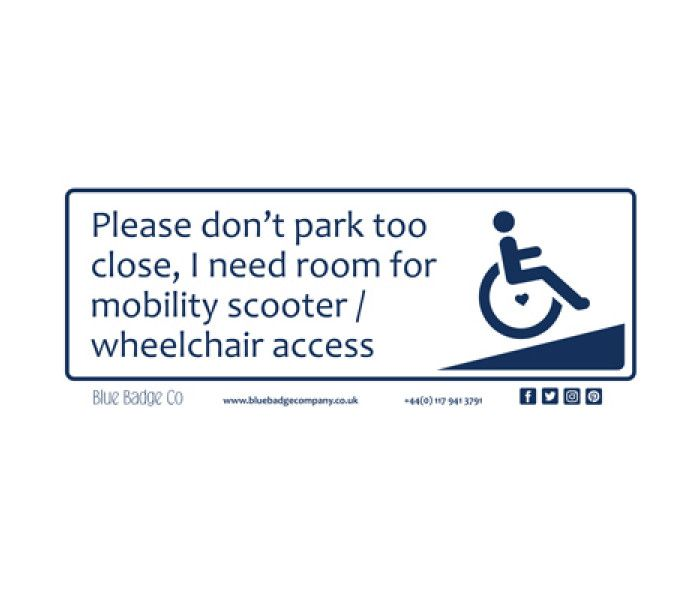 How To Get A Disabled Badge For Car Uk