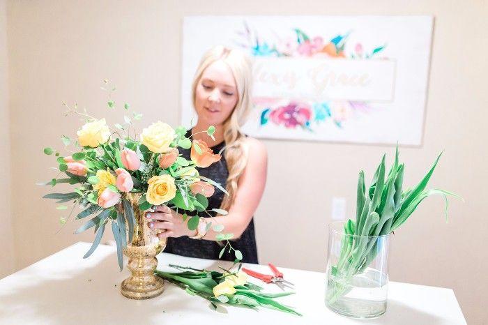 Alexis Grace Florals Tucson Arizona Wedding Florist Rose Bouquet