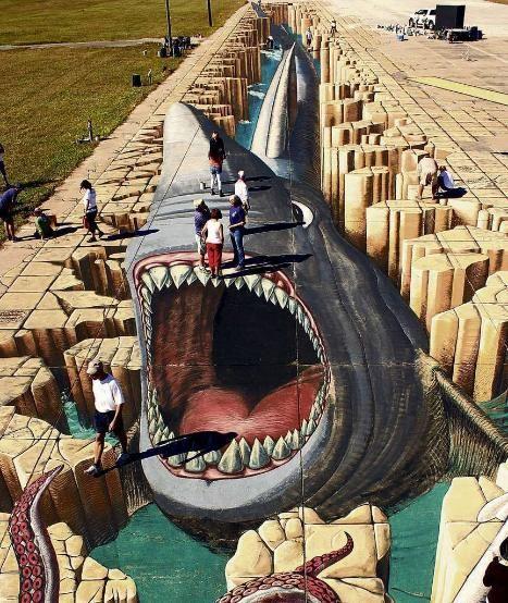Im Guinness-Buch: Diese Straßen-Kunst ist ein Weltrekord