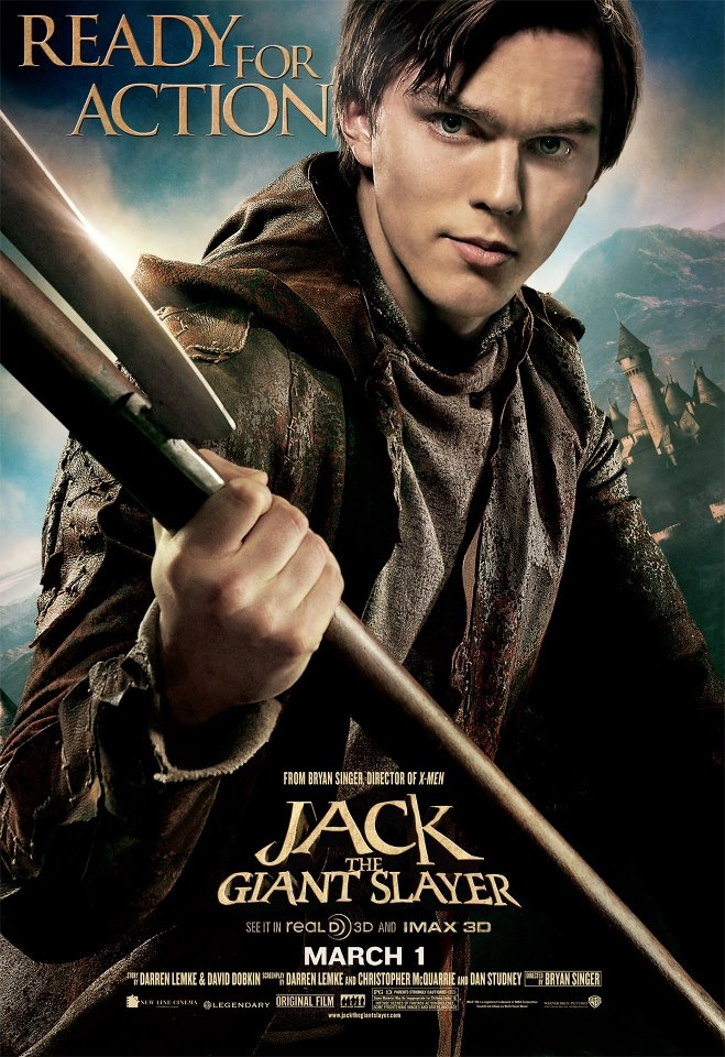 Jack the Giant Slayer: a movie that didn't take itself seriously and was just a fun adventure/fairytale.