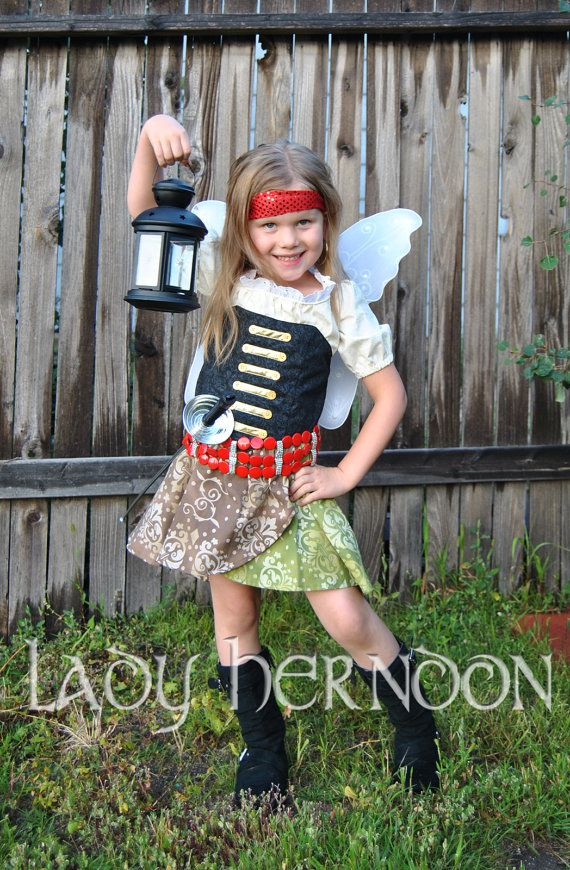 My Pixie Hollow Zarina the Pirate Fairy Costume by LadyHerndon