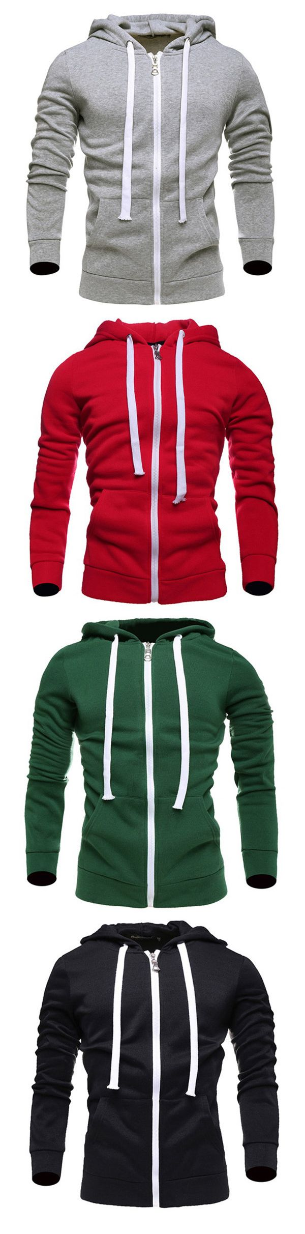 Casual Outfit: Mens Hoodies   / Sport Hooded Tops