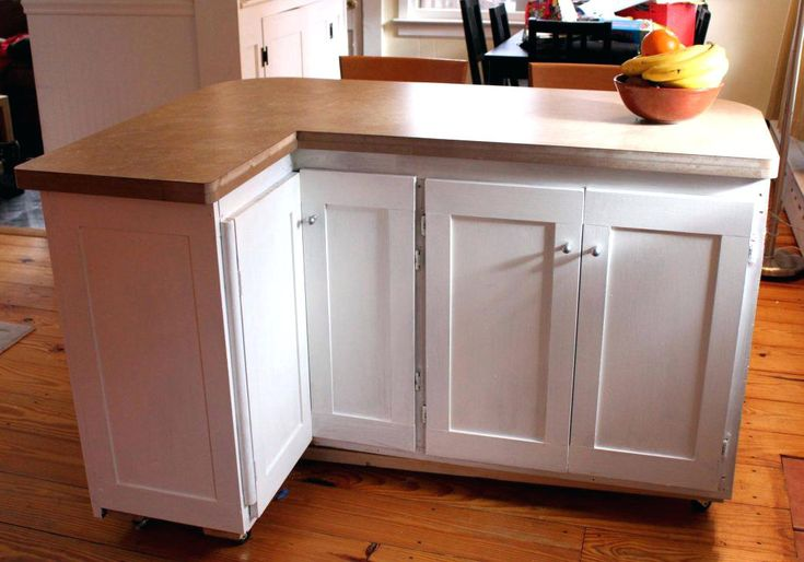 Build A Kitchen Island Using Stock Cabinets Large Size Of