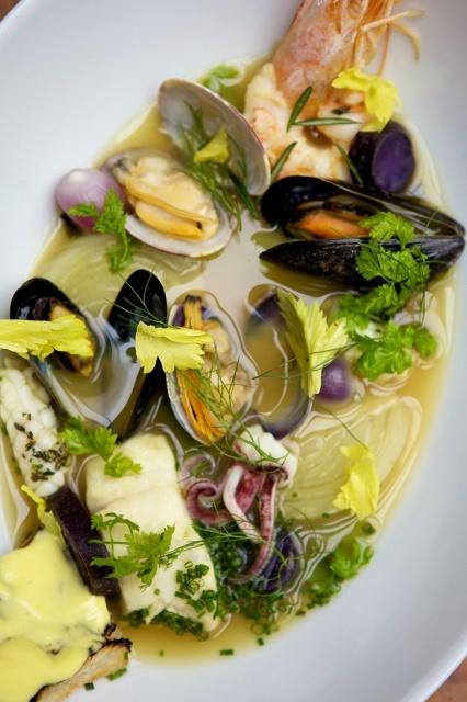 insalata di mare tiepida