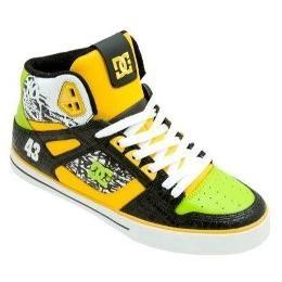 dc shoes men's spartan hi | DC Shoes DC Block Spartan High WC Skate Shoe ;