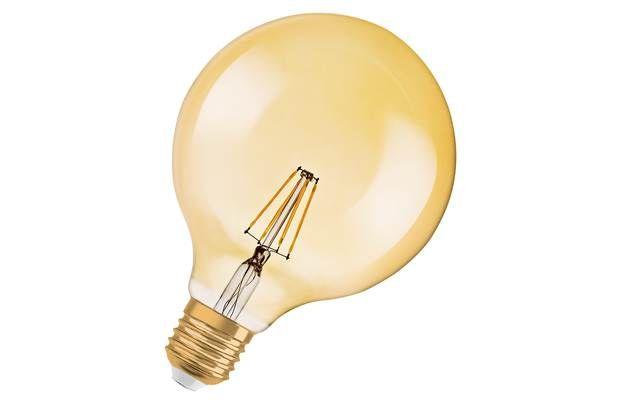 Osram 35W LED Vintage ES Globe Bulb - Gold: Enrich your room with that retro feel using the Osram LED Vintage… #UKShopping #OnlineShopping