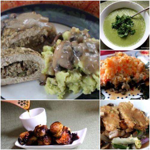 Vegan Thanksgiving Recipe Ideas! #veganholidays