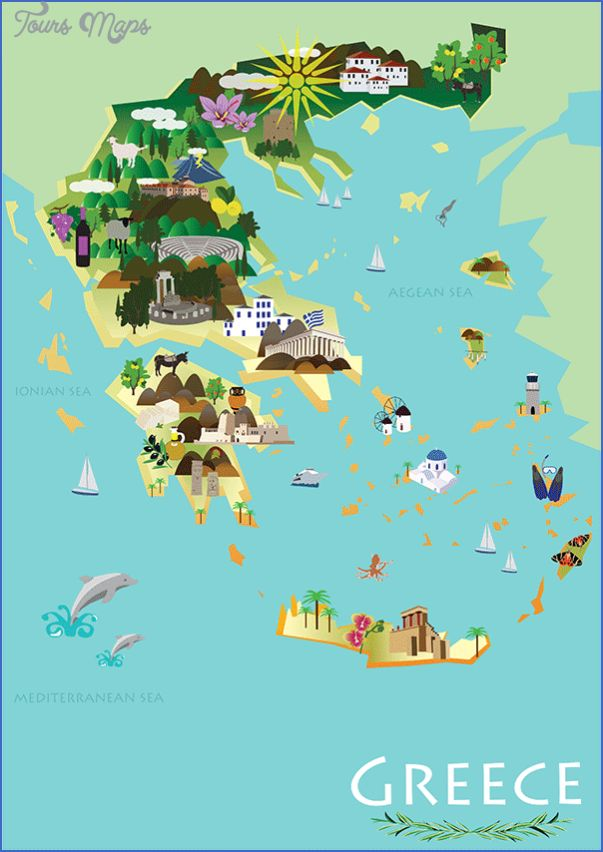 nice Greece Map Tourist Attractions   Tours Maps in 2019 ...