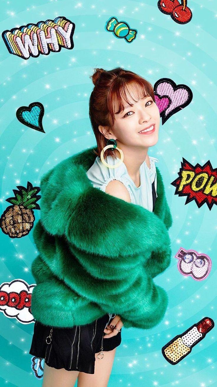 Twice-Jeongyeon Candy pop photo shoot