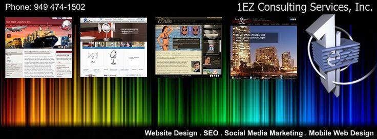 Orange County website design company specializing in web design, development, marketing, custom wordpress design, responsive web design in Orange County Ca. https://www.1ezconsulting.com/