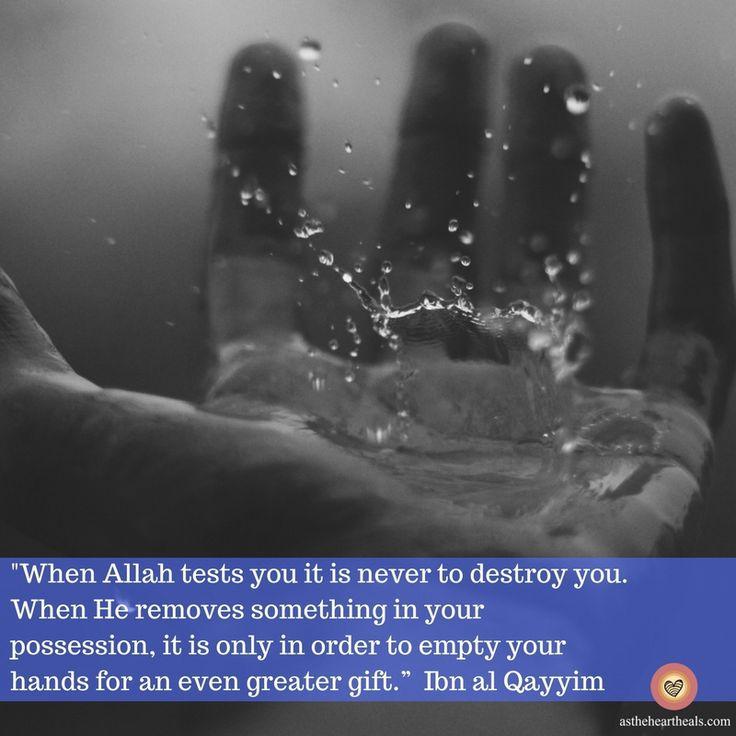 Allah has a plan for you. Trust His plan. #TrustingAllah #Tawakaltualallah #Islam #Muslim #loss #grief