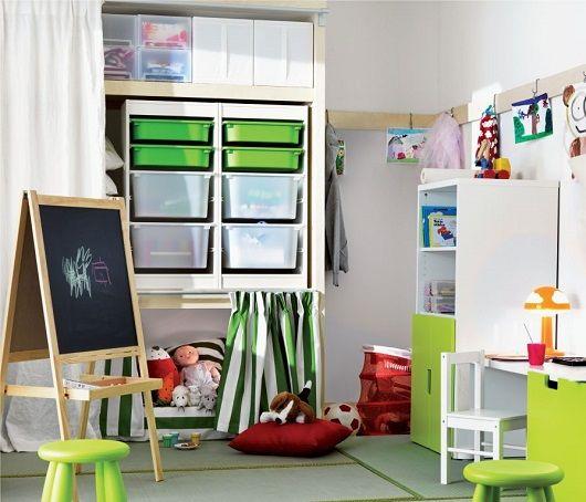 Almacenamiento habitación infantil