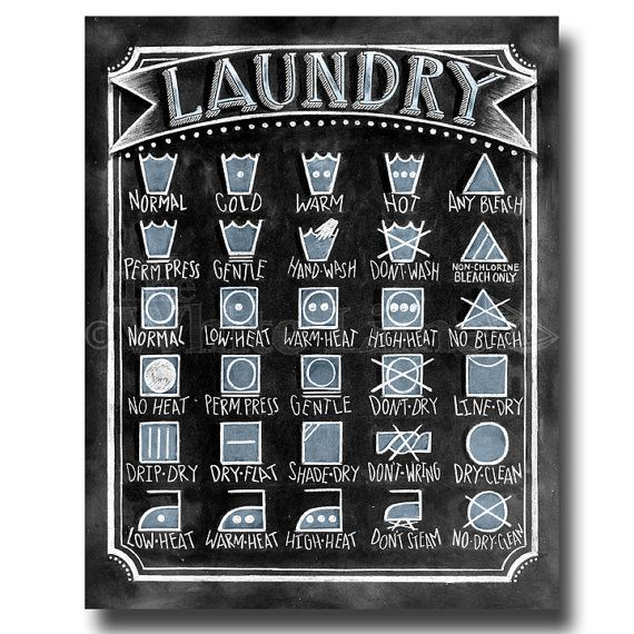 Clothes Wash Signs: 1000+ Ideas About Laundry Symbols On Pinterest